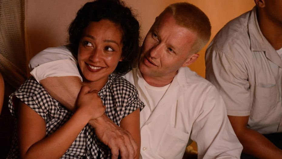 """Ruth Negga and Joel Edgerton in a scene from the film """"Loving."""" (Focus Features)"""