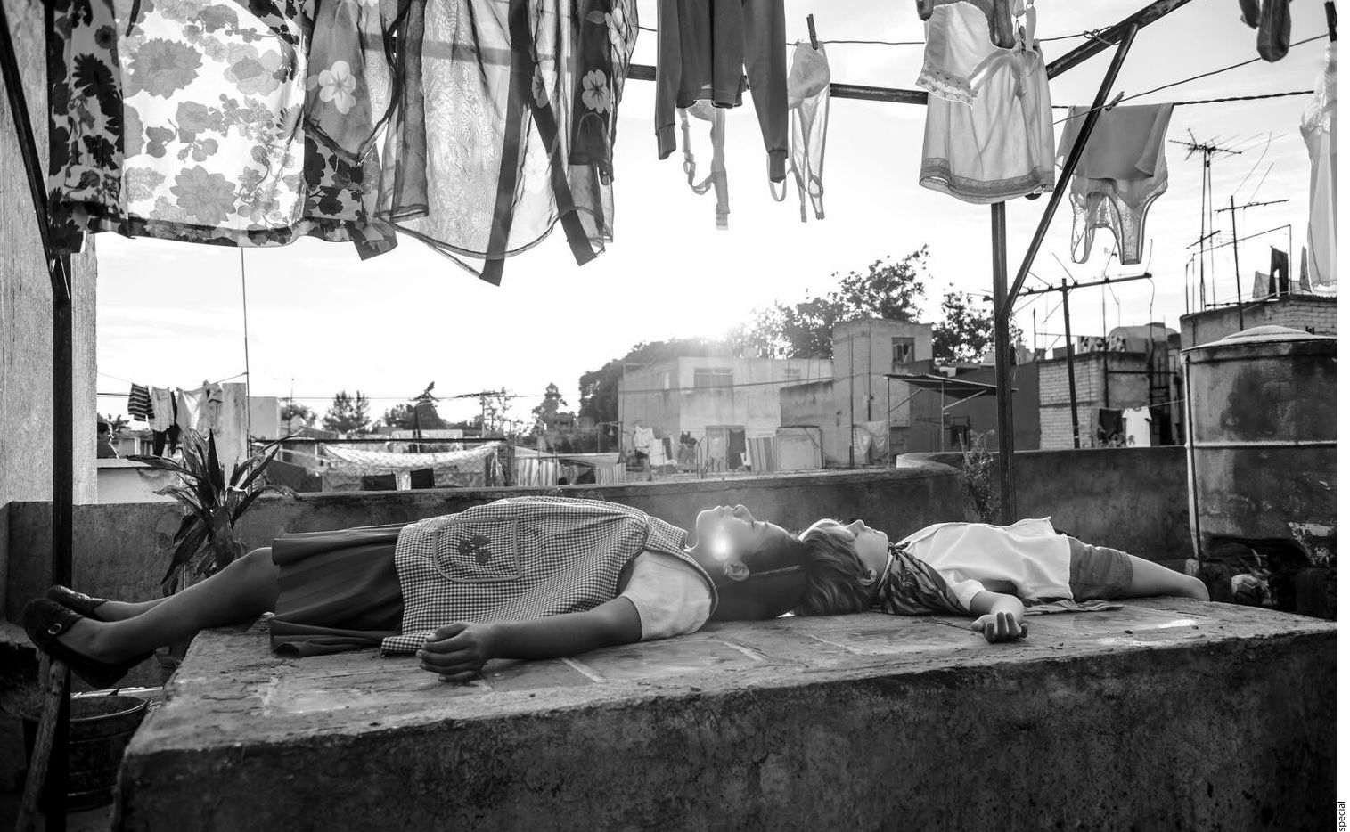 """Roma"""" se desarrolla en los últimos años de dos políticas que coexistieron paralelamente en México. (AGENCIA REFORMA)"""