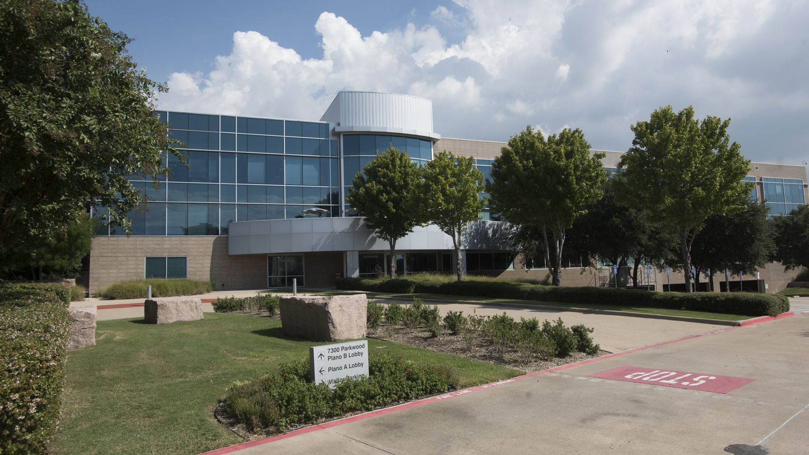 This is the USAA  office building in Plano. (Rex C. Curry/Special Contributor)