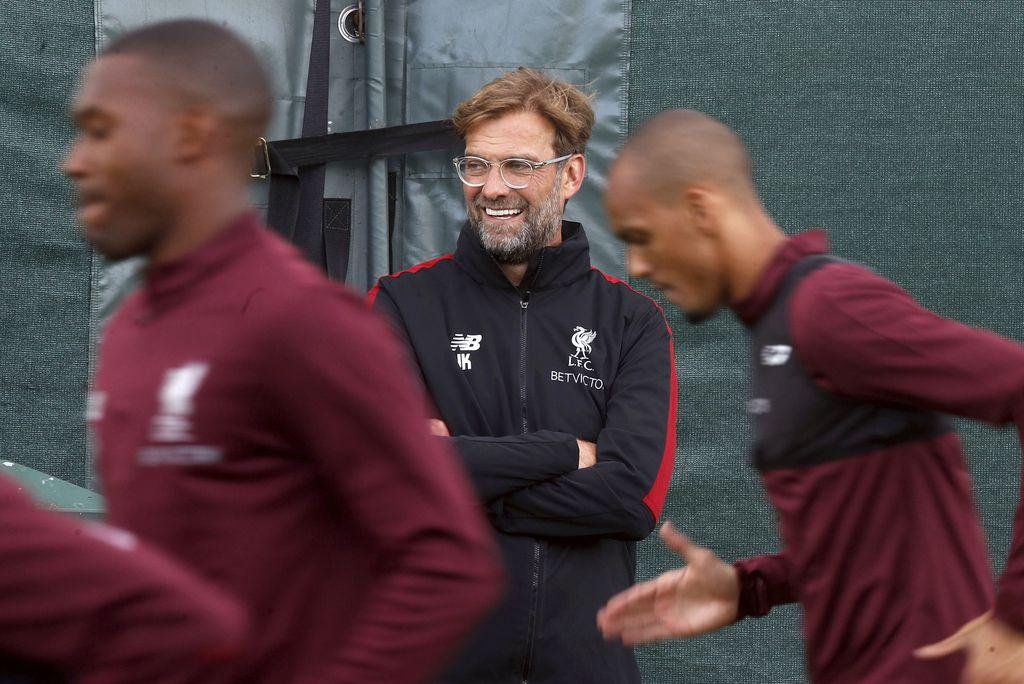 El Liverpool, del coach Jurgen Klopp, integra la Llave C. (Martin Rickett/PA via AP)