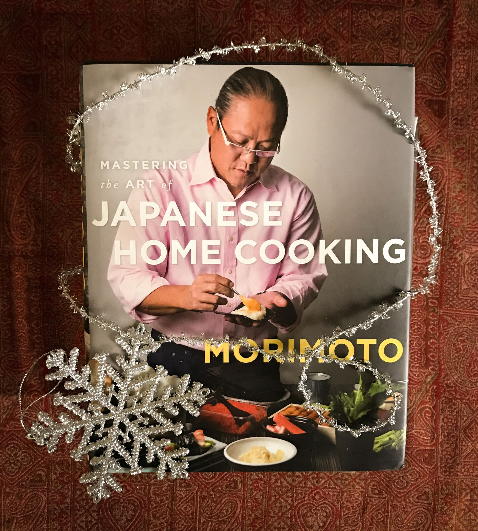 "Chef Masaharu Morimoto writes for regular cooks in ""Mastering the Art of Japanese Home Cooking."""