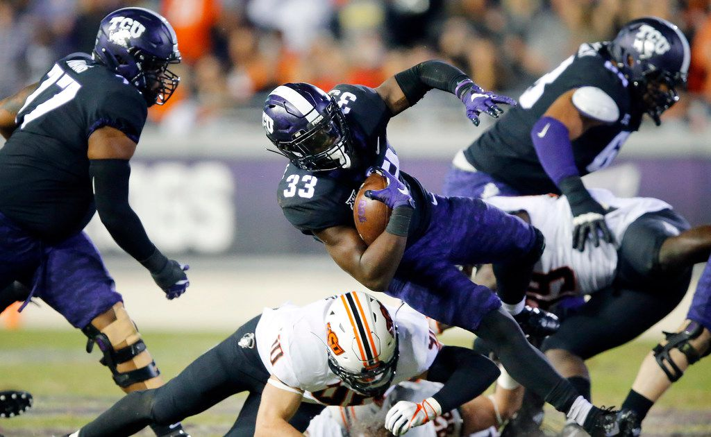 TCU RB Sewo Olonilua will sit out first half of team's season opener, Gary Patterson says