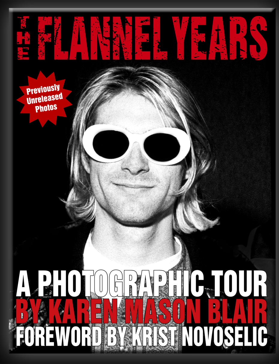 """""""The Flannel Years"""" features more than 150 photos from the early days of Seattle's grunge scene."""