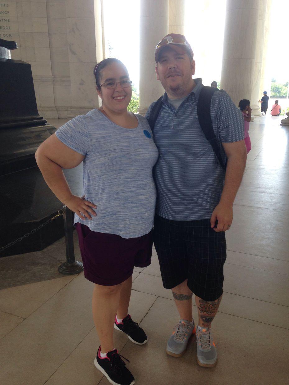 Cristina and Andrew Dickinson
