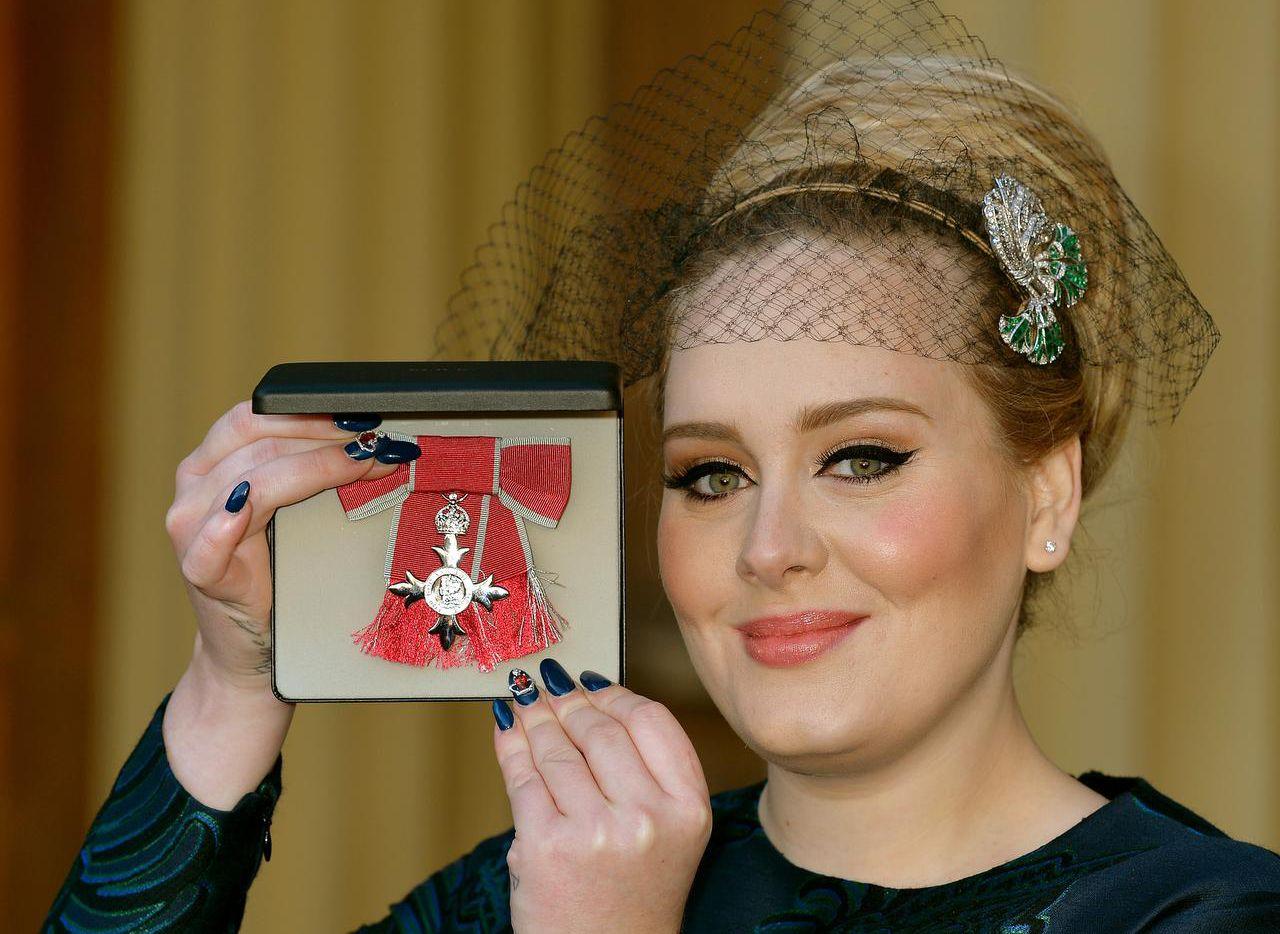 Adele Adkins anunció el lanazmiento de su tercer álbum discográfico. (AFP/Getty Images/JOHN STILLWELL)
