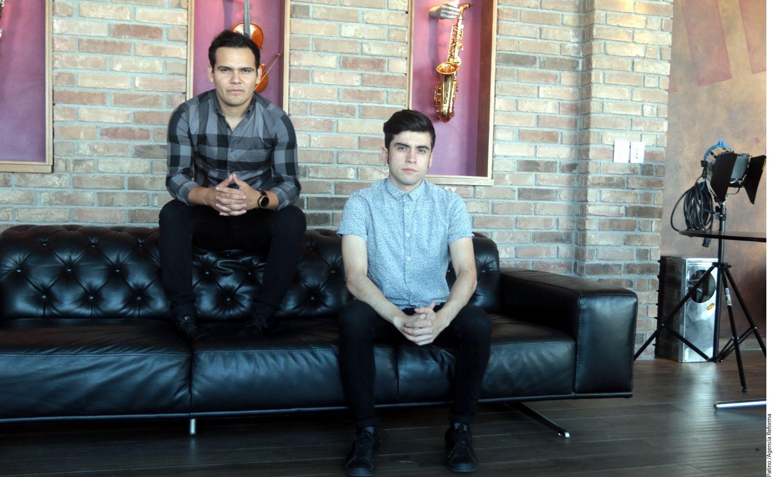 DJ Otto (izq.) afirmó que él y Sheeqo Beat (der.) seguirán adelante con el proyecto de 3BALLMTY, después de la salida de Érick Rincón./AGENCIA REFORMA