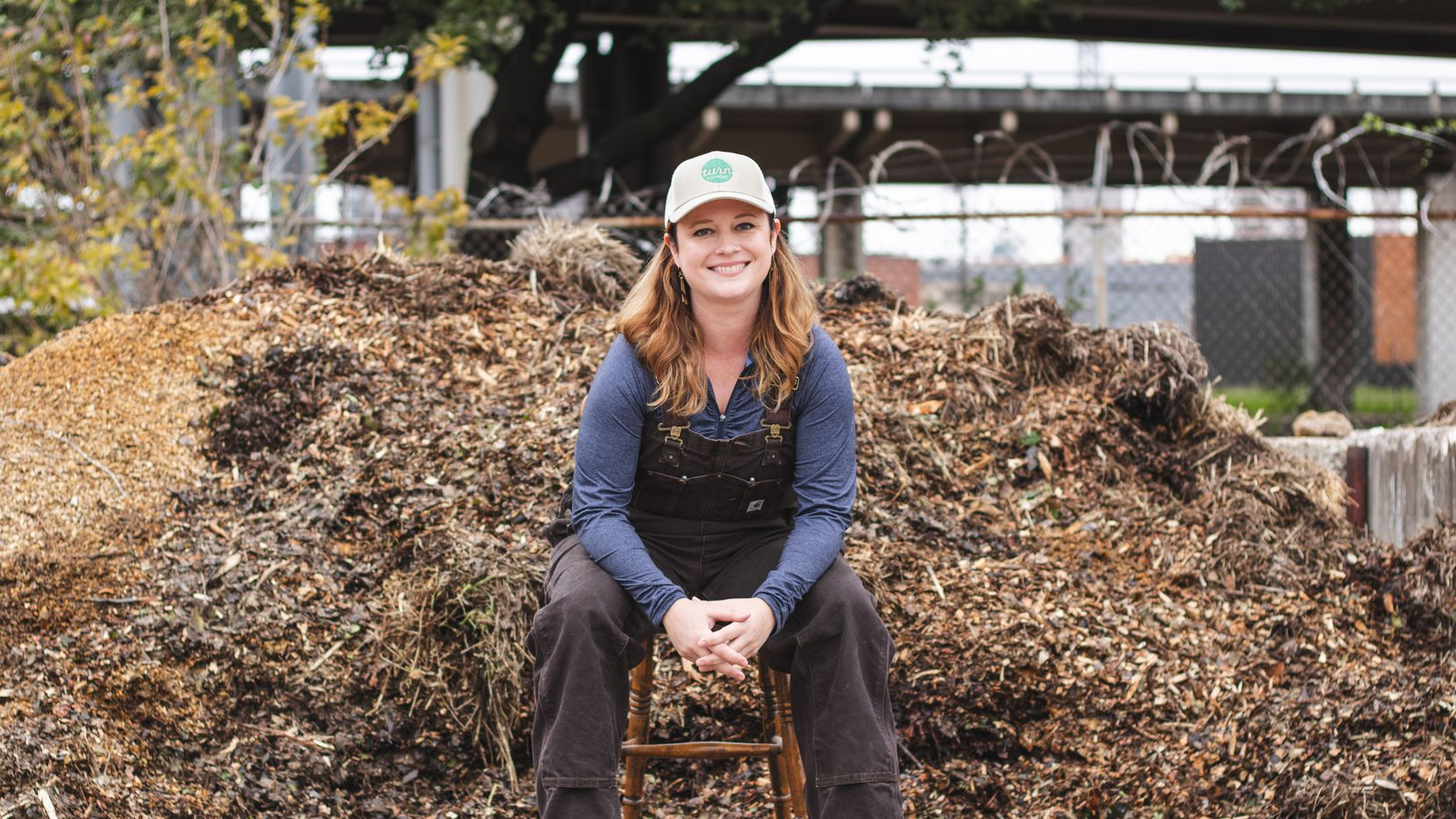 Lauren McMinn Clarke is the founder of Dallas-based Turn, a company that offers concierge composting for households, restaurants and other businesses. The company has a subscription-based business model. It picks up buckets of compost and swaps them for clean buckets.