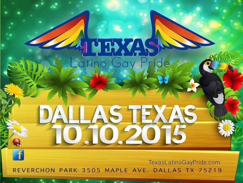 El Dallas Latino Gay Pride Festival será el sábado 10 de octubre.