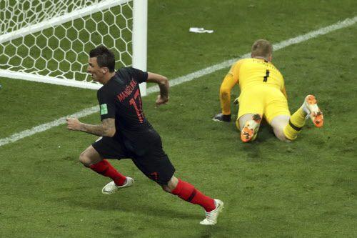 Gol de Mario Mandzukic. Foto AP
