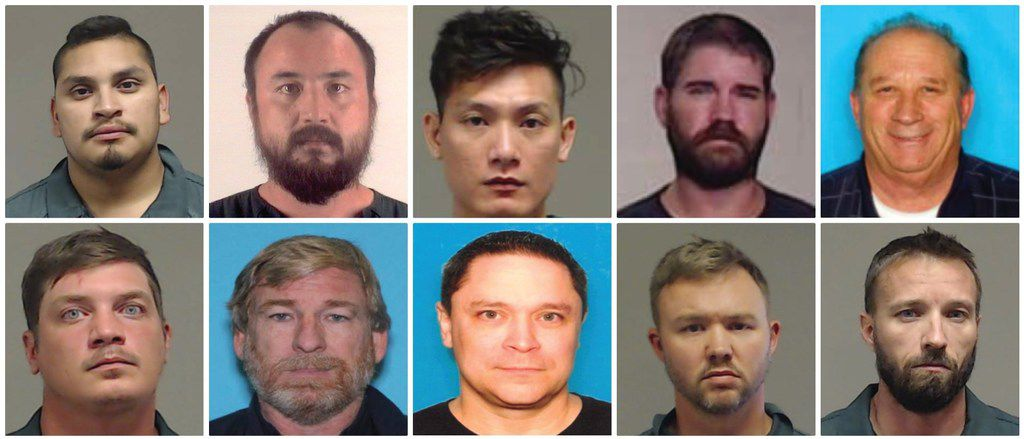 Top row, from left: Stephen Clark, Tei Kue, Vy Ma, Christopher Sempe, James Maraia. Bottom row, from left: David Jones, Joel Atmore, Kirby Gowland, Robert Kessler, Nicholas Srader.