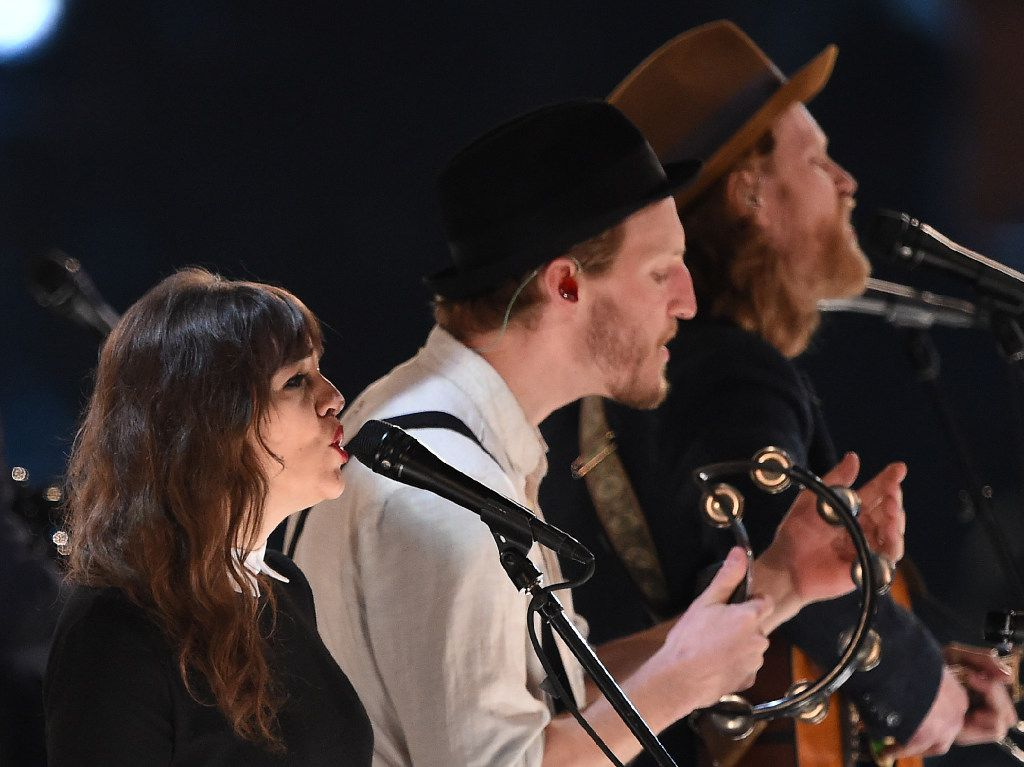 The Lumineers performed at Verizon Theatre in Grand Prairie on Feb. 28, 2017. We were not able to photograph the concert. Here, the Lumineers perform during the 2017 MusiCares Person of the Year on Feb. 10, 2017.