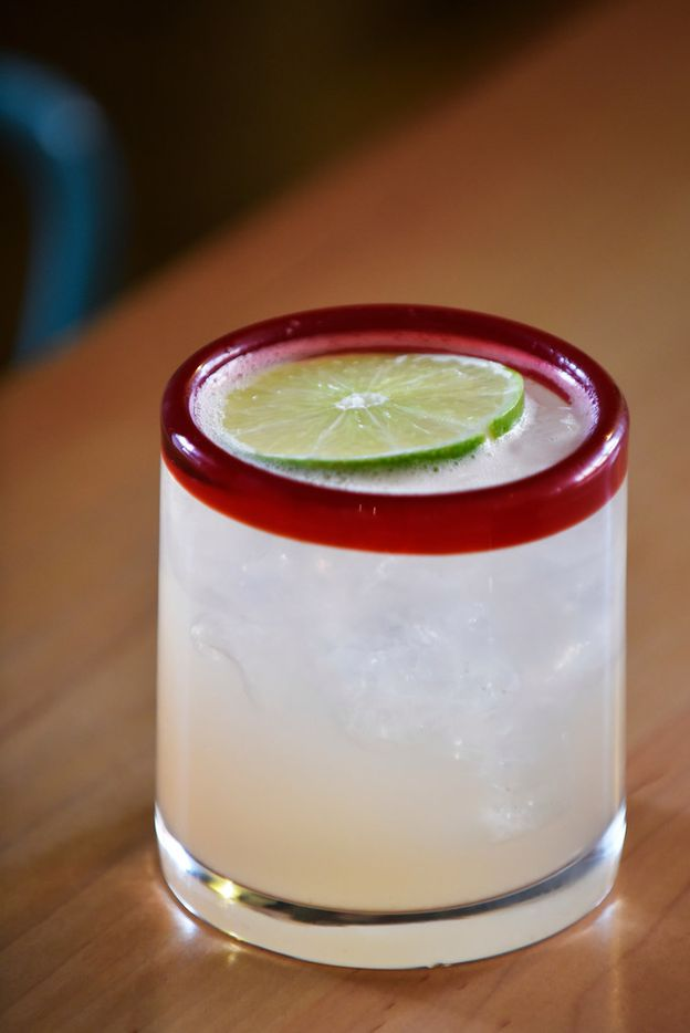 La Skinny margarita served with Casa Noble Reposado, fresh lime juice, a splash of soda and agave nectar, from Urban Taco in Dallas, Monday, Feb. 18, 2019. Ben Torres/Special Contributor