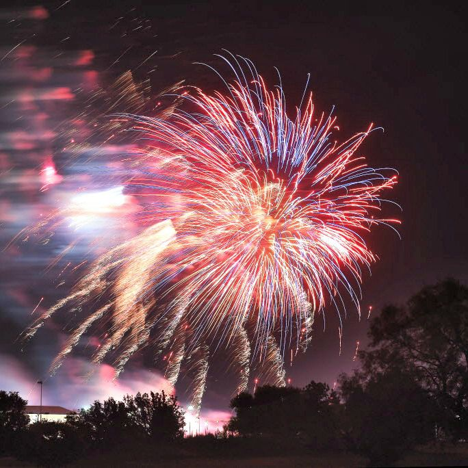 The Denton Kiwanis Club's Fourth of July Fireworks Show