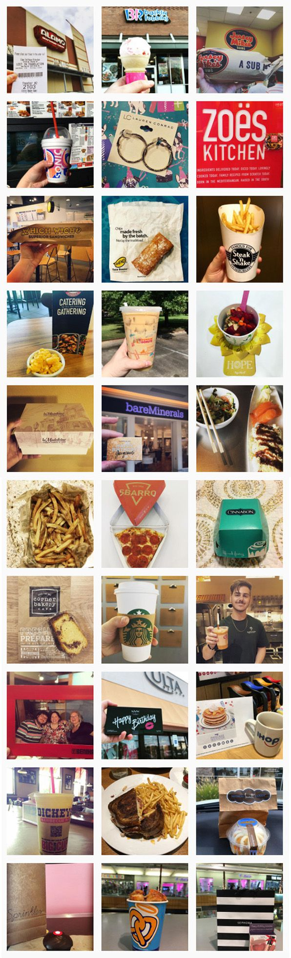 Here's a look at all 30 of Nicole Ido's freebies.