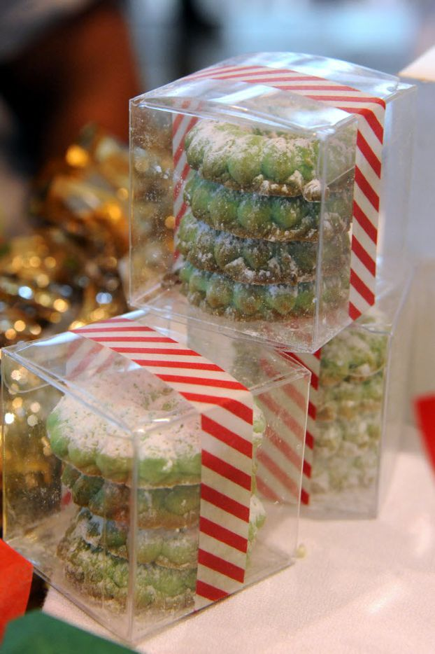 Butter cookies are sold at the NorthPark Center bake sale befitting the North Texas Food Bank in Dallas, TX on December 19, 2015. (Alexandra Olivia/ Special Contributor)