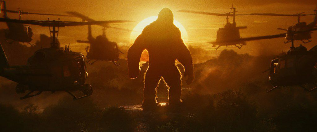"KONG in Warner Bros. Pictures', Legendary Pictures' and Tencent Pictures' action adventure ""KONG: SKULL ISLAND."""