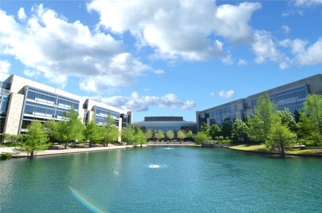 Ericsson North America's headquarters in Plano.