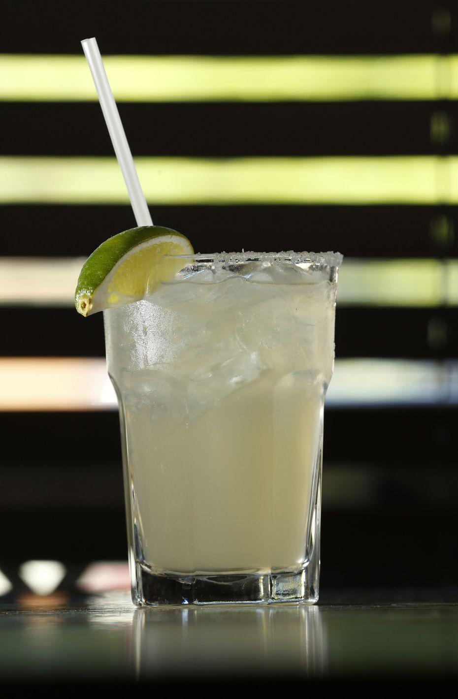 A skinny margarita at E Bar Tex-Mex