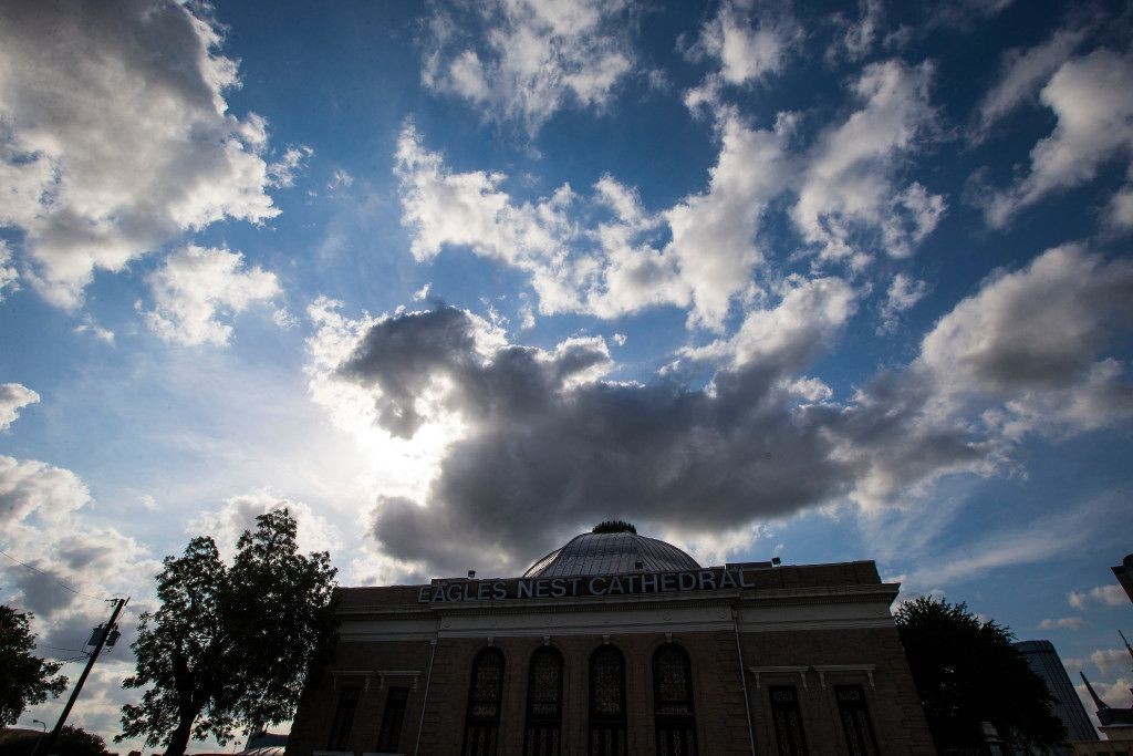 The Eagle's Nest Cathedral, the former First Church of Christ, Scientist, is on the market.