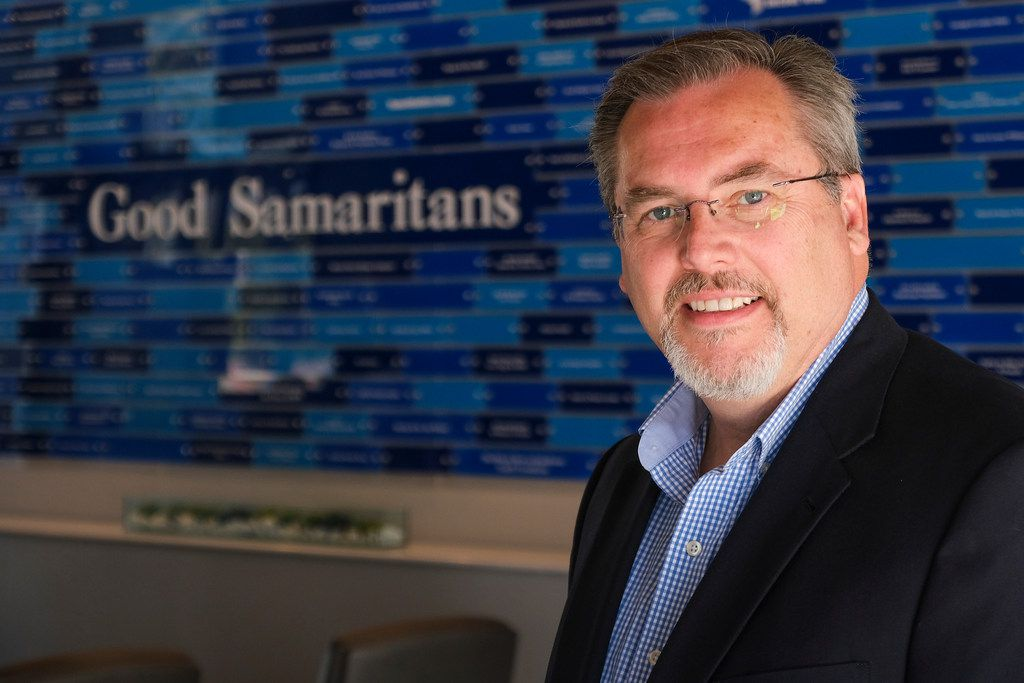 """Samaritan Inn CEO Rick Crocker says Collin County is """"experiencing economic prosperity and boom, but if we aren't careful, the danger of leaving many people behind is very, very real.""""."""