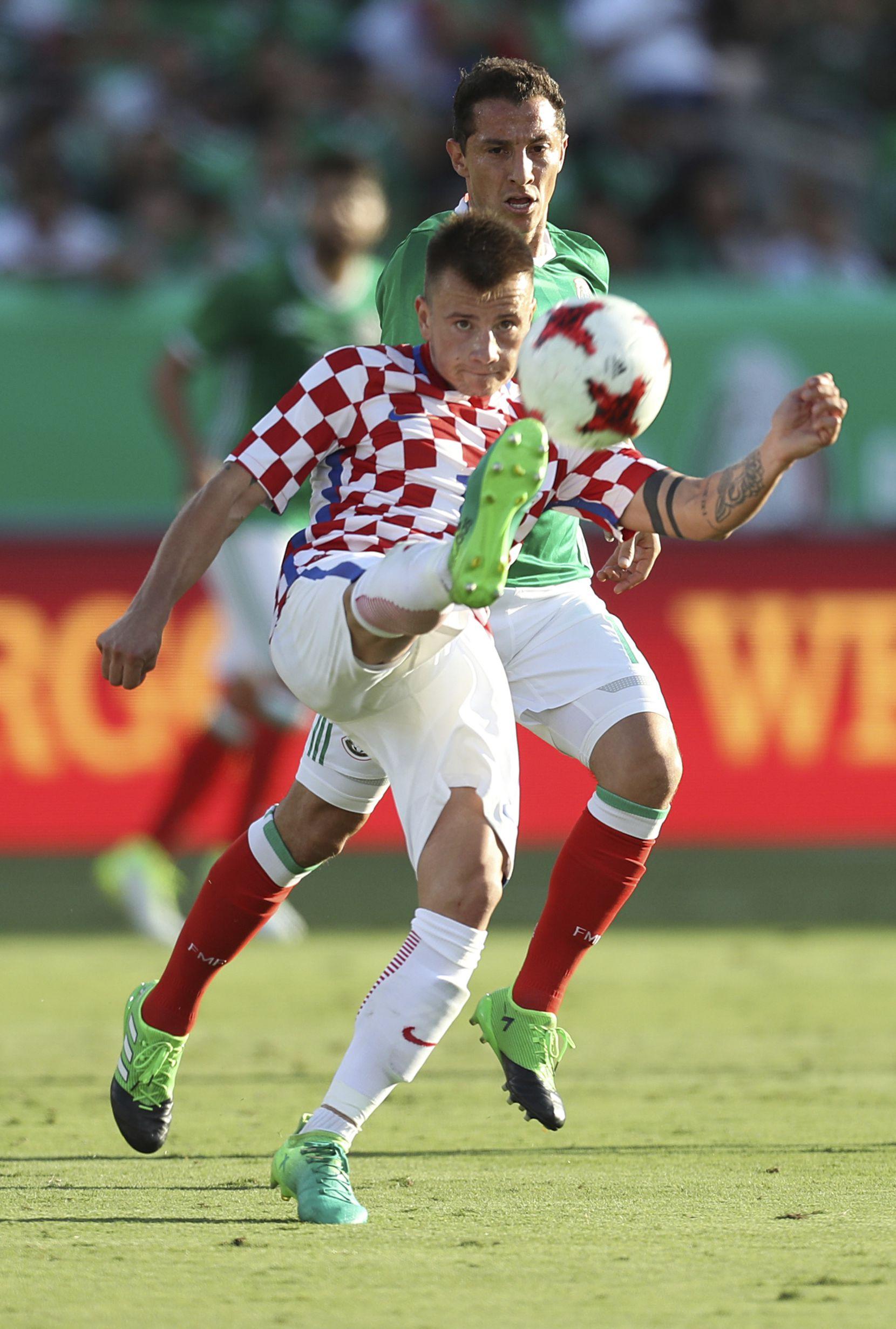 México y Croacia jugaron un amistoso en mayo de 2017 en Las Vegas. (Omar Vega/LatinContent/Getty Images)