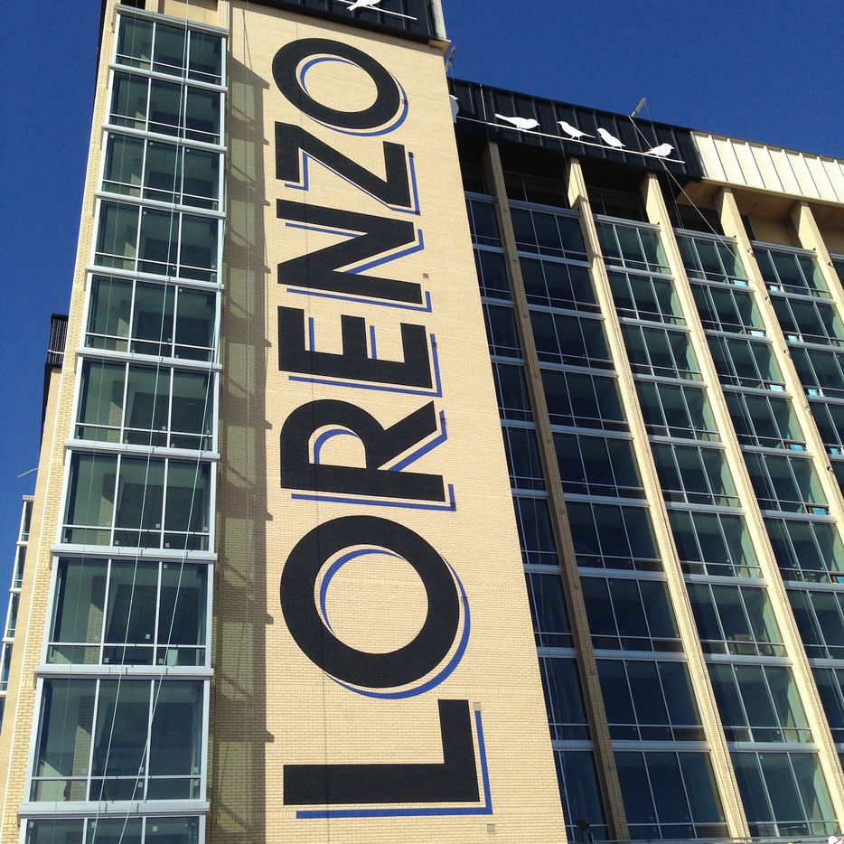 The Lorenzo Hotel on South Akard will open in January. (Steve Brown/Staff)