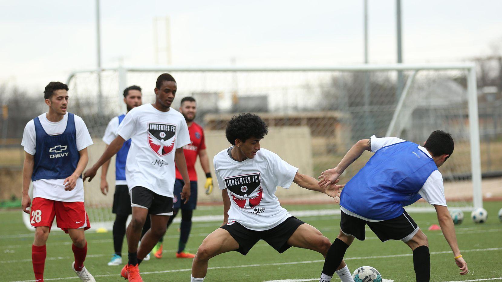Inocentes FC de Fort Worth realizará una tercera visoria para buscar talento de cara a su primera temporada en la UPSL de Estados Unidos. (ESPECIAL PARA AL DÍA/OMAR VEGA)