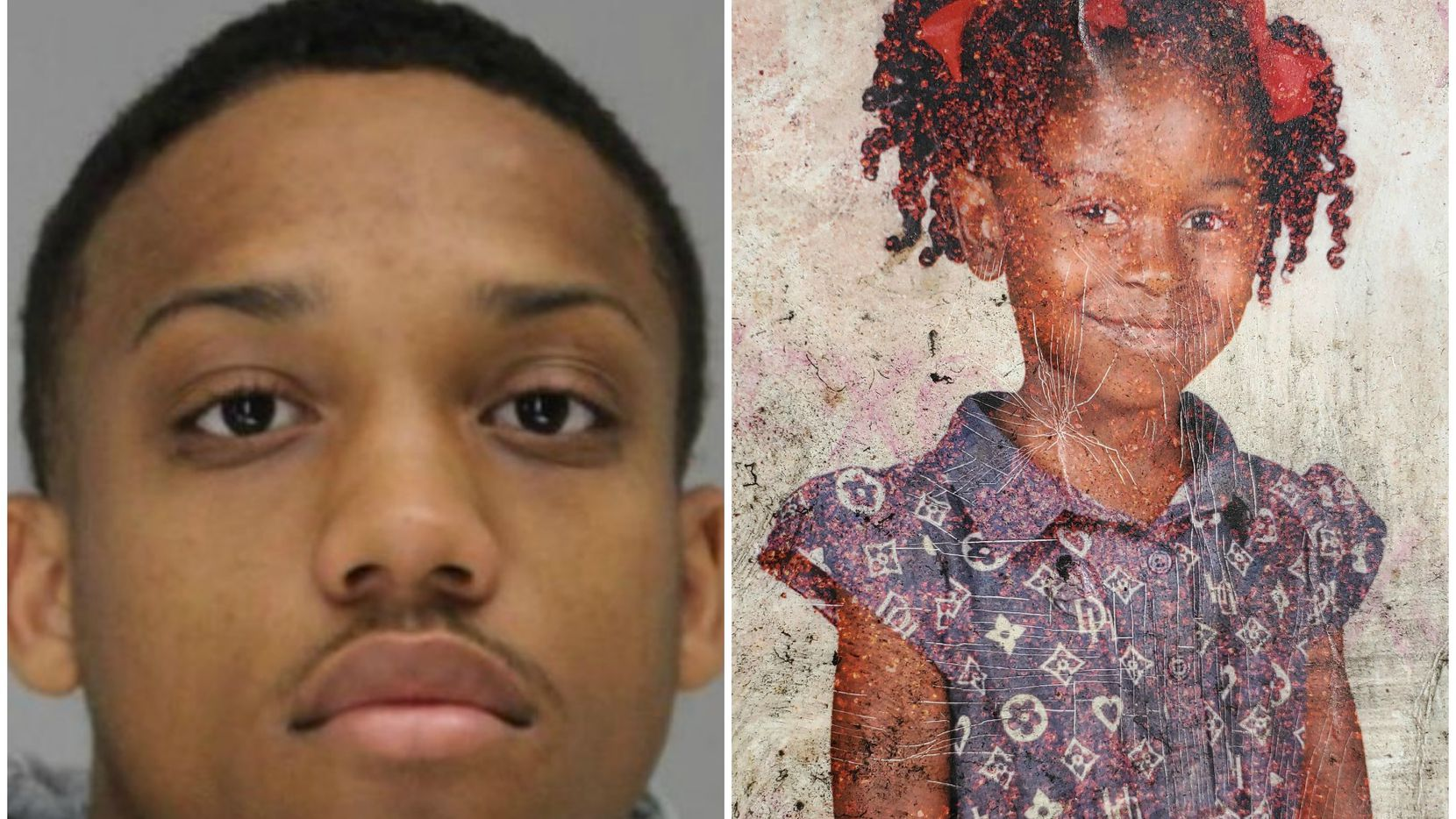 Tyrese Simmons was named as a suspect in the death of 9-year-old Brandoniya Bennett. Police suspect Simmons was gunning or a rival rapper when he allegedly fired into the girl's home.