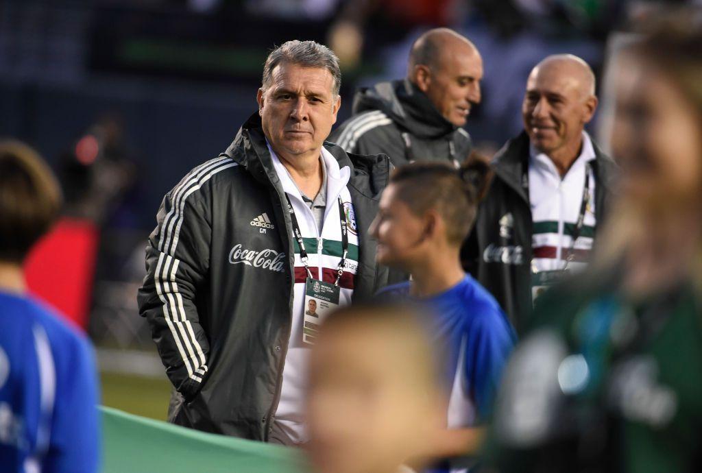 Gerardo Martino, técnico de México, estará en Dallas el martes para reunirse con el alcalde.  (Foto de  Denis Poroy/Getty Images)