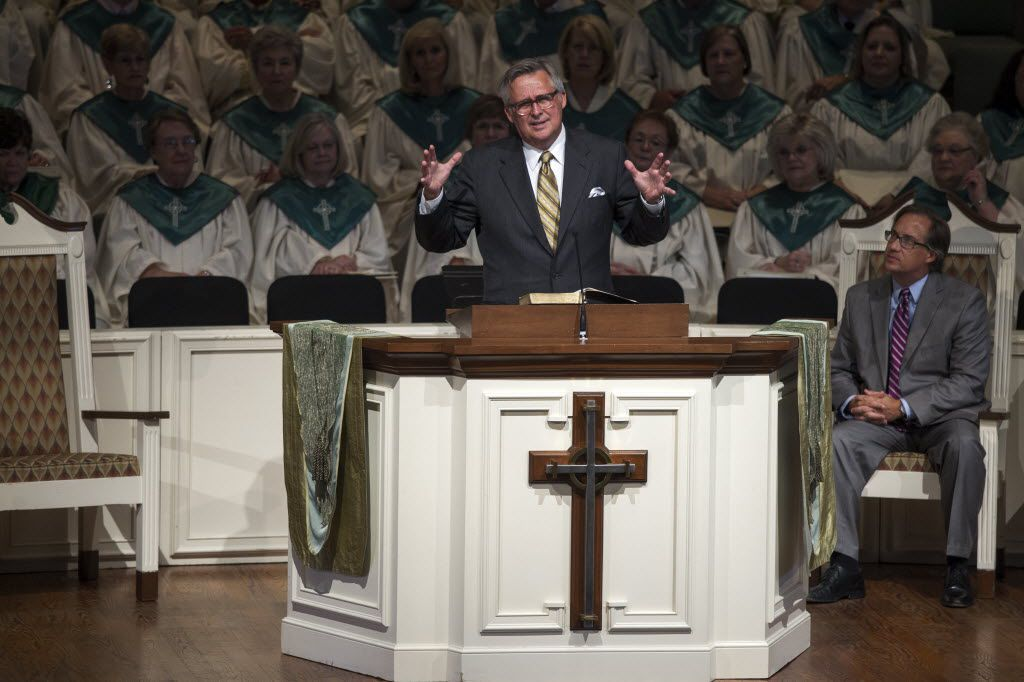 """George Mason, Wilshire Baptist Church's pastor, says, """"The way I've been thinking is, we're not of one mind but of one heart. (File Photo/Staff)"""