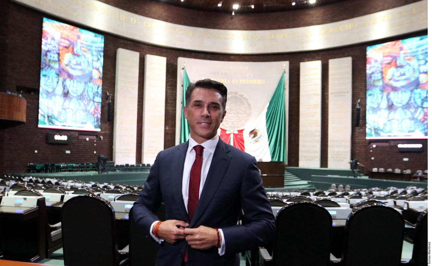 Por medio de un comunicado conjunto, Morena y el PES informaron por la noche del trueque de comisiones, con base en el acuerdo de alianza legislativa que firmaron junto con el PT. ./ AGENCIA REFORMA