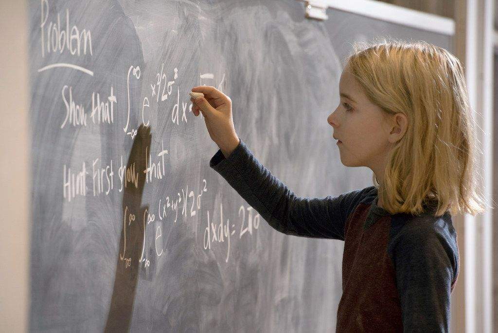 """Ten-year-old Mckenna Grace is an actress who plays a math genius in the new movie """"Gifted."""""""