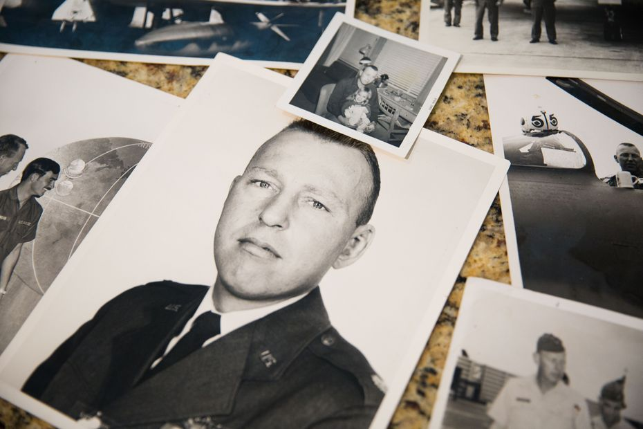 Family photos of Larry Whitford, father of Nancy Whitford Eger.
