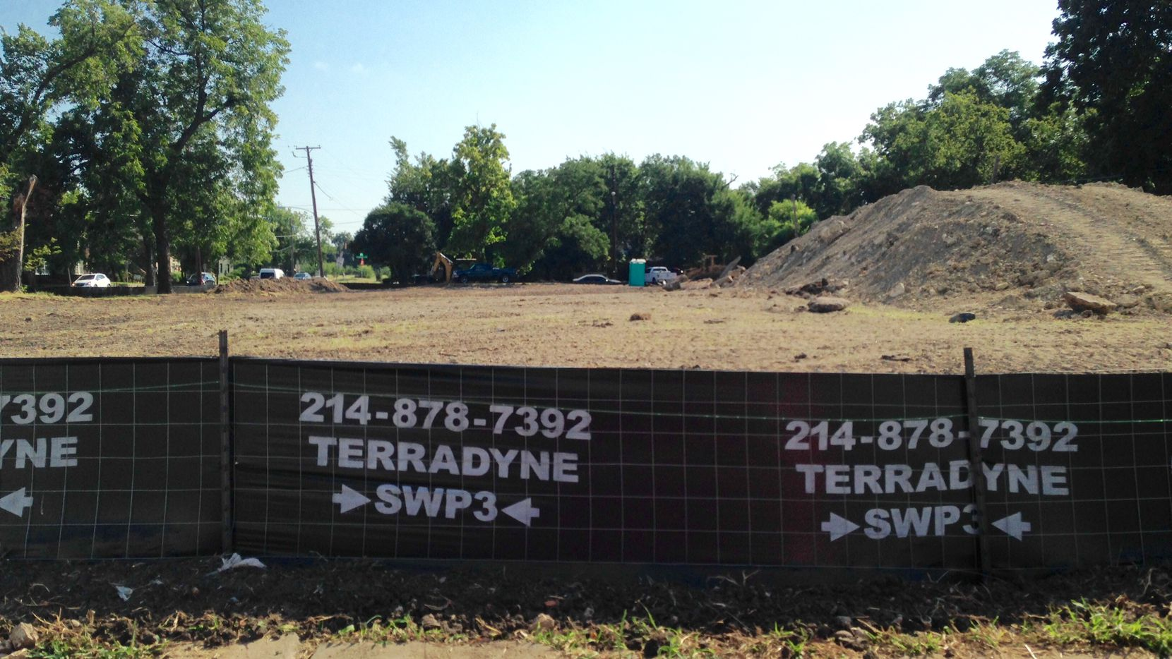Centre Living Homes purchased the vacant block at Live Oak Street and Prairie Avenue east of downtown where construction has begun.