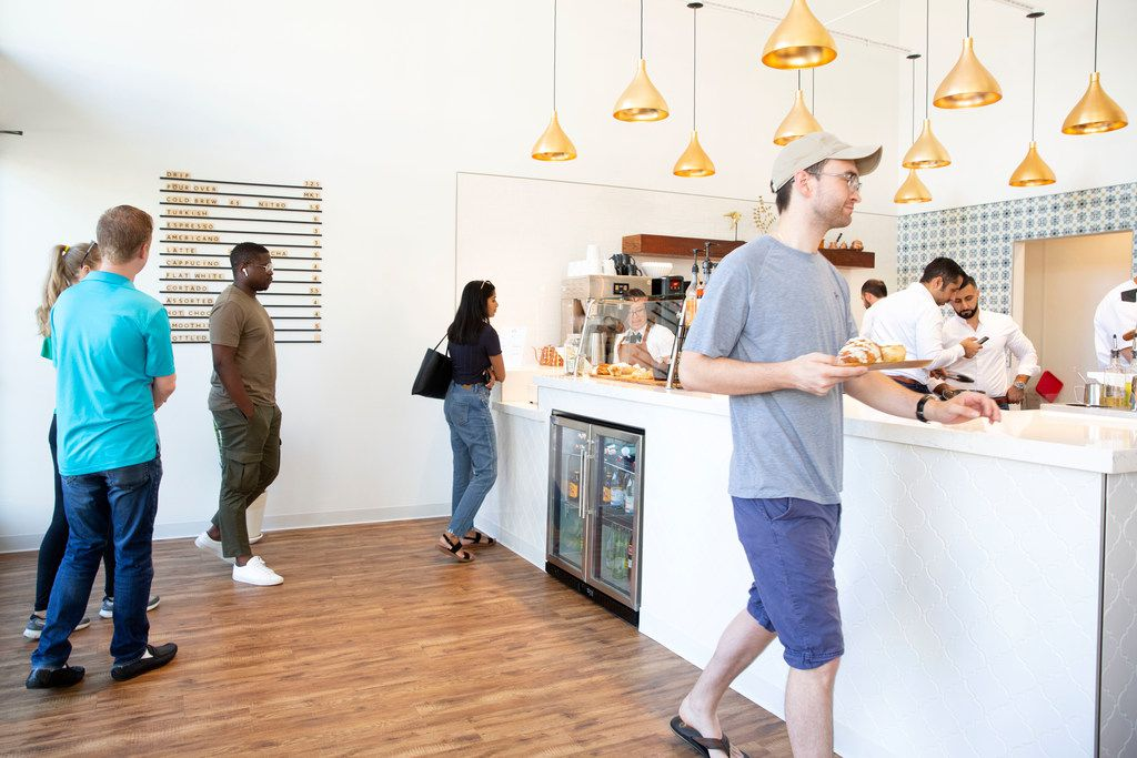 Pax & Beneficia coffee shop opened Aug. 27, 2019.