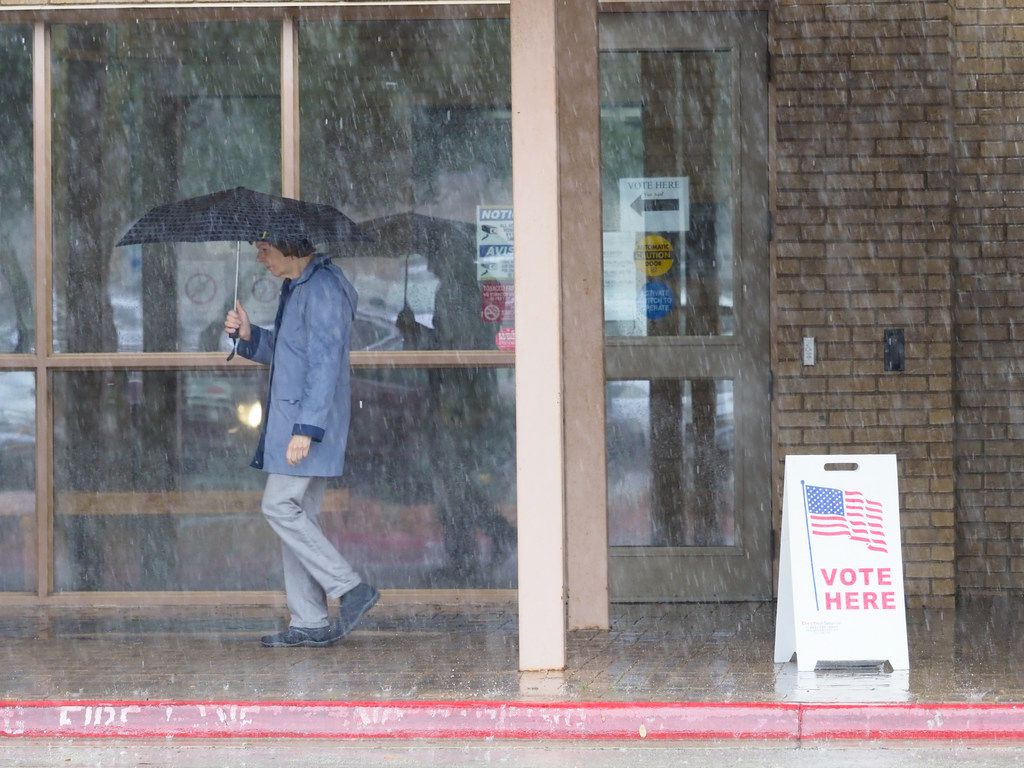 Early voting for the March 6 primaries started Tuesday and continues through March 2.,