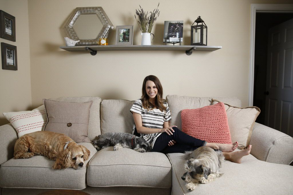 Maggie Lewis poses for a photograph at her home in Allen, Texas on May 4, 2016. (Rose Baca/The Dallas Morning News)