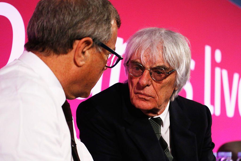 Bernie Ecclestone es el director ejecutivo de la Fórmula Uno. GETTY IMAGES