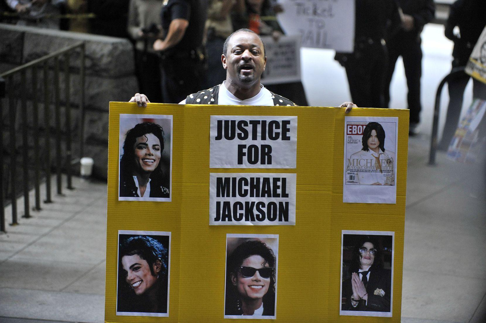 El doctor Conrad Murray fue sentenciado por homicidio involuntario por la muerte de Jackson. Foto GETTY IMAGES
