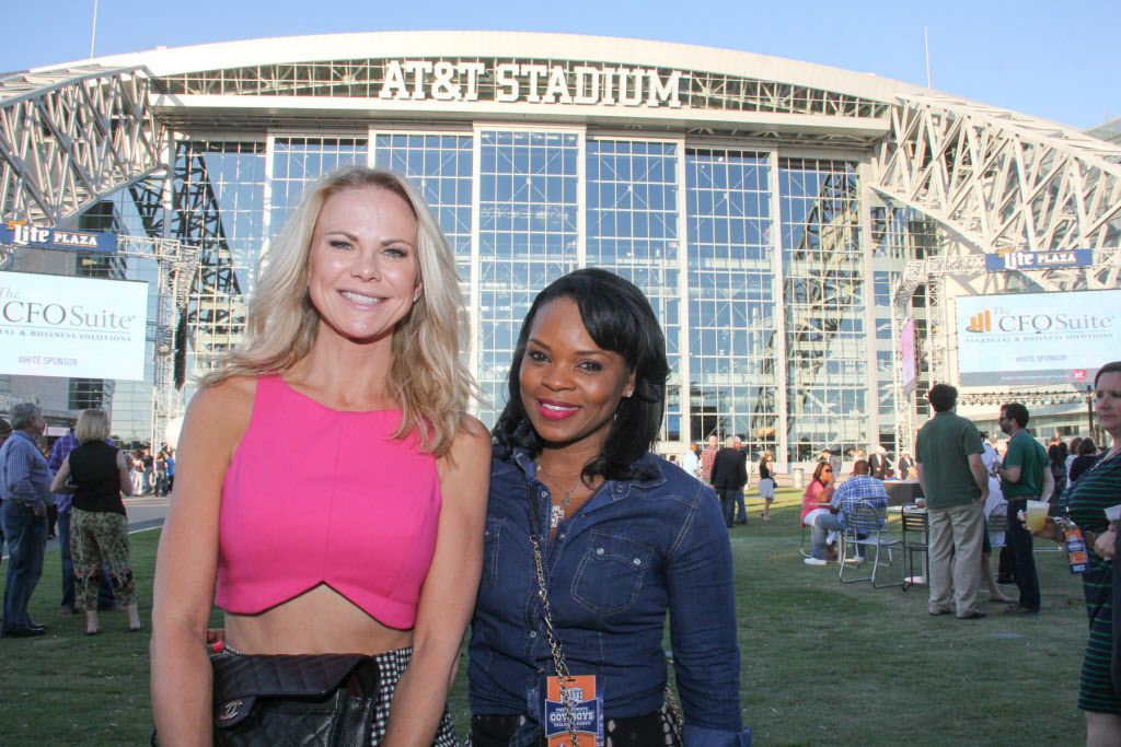 Kristin Smith and Kimberly Alexander at theTaste of the NFL