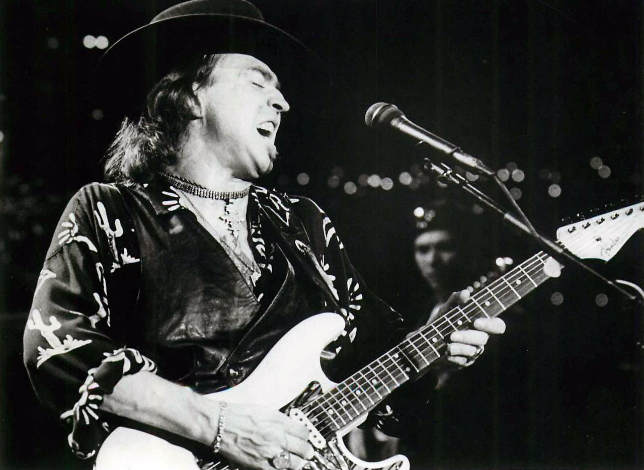 Stevie Ray Vaughan is pictured in an undated photo. (Courtesy)