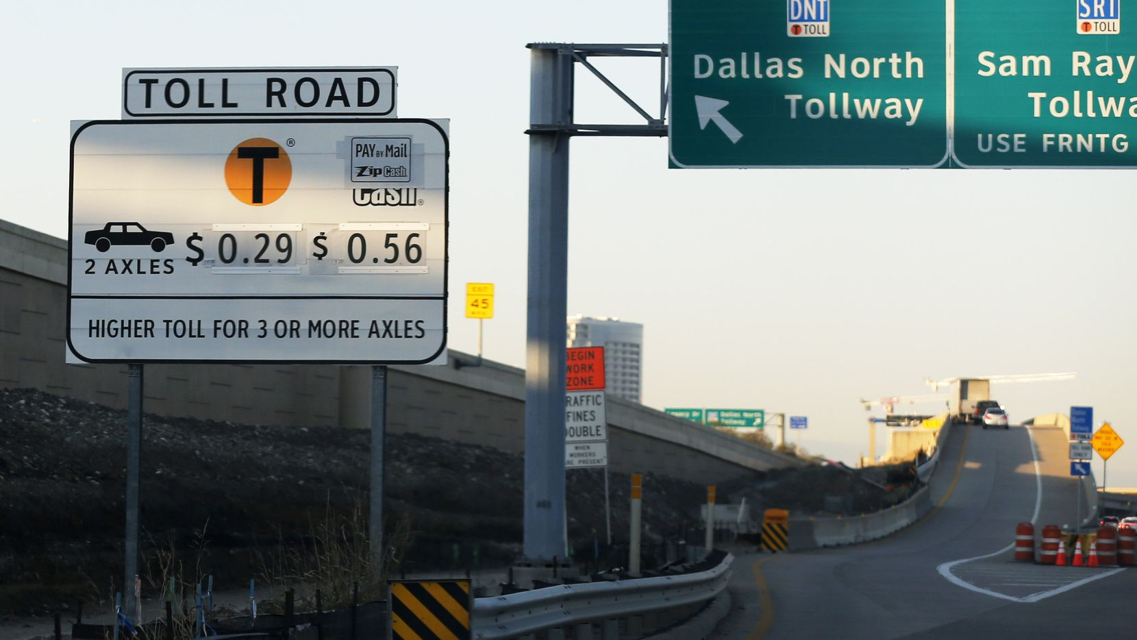 The Dallas North Tollway can shave a good bit of time off your travel — but it'll cost you.