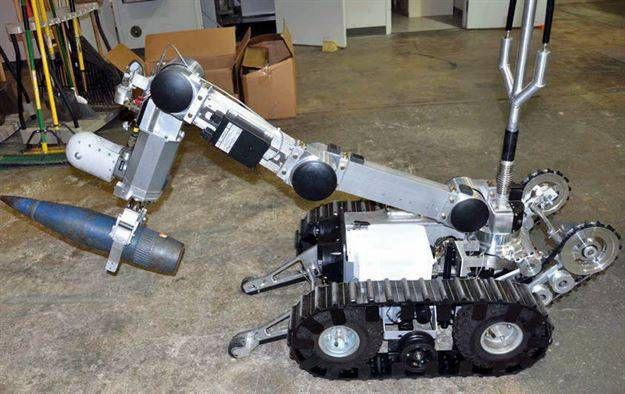 Un robot F6A similar a este fue utilizado por la policía de Dallas.