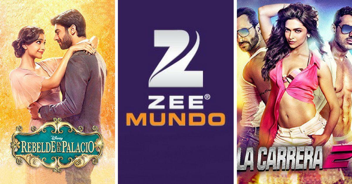 Zee Entertainment, una cadena de películas de Bollywood, lanzó su cadena hispana Zee Mundo el jueves. (CORTESÍA