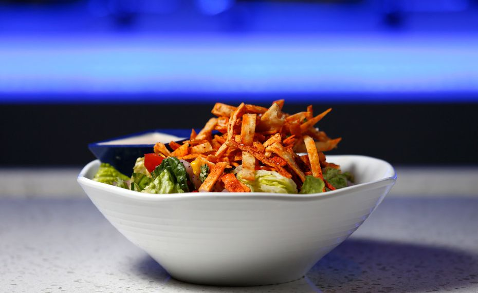 A bowl of Southwestern Salad at Studio Movie Grill in The Colony.