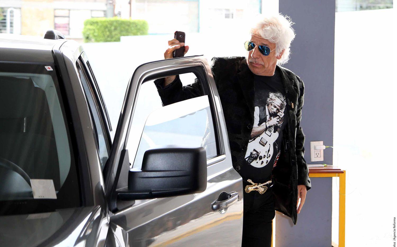 """El comediante José Luis Cordero (foto), mejor conocido como """"Pocholo"""", también asistió al funeral del actor Pedro Weber, quien falleció a los 82 años. /AGENCIA REFORMA"""