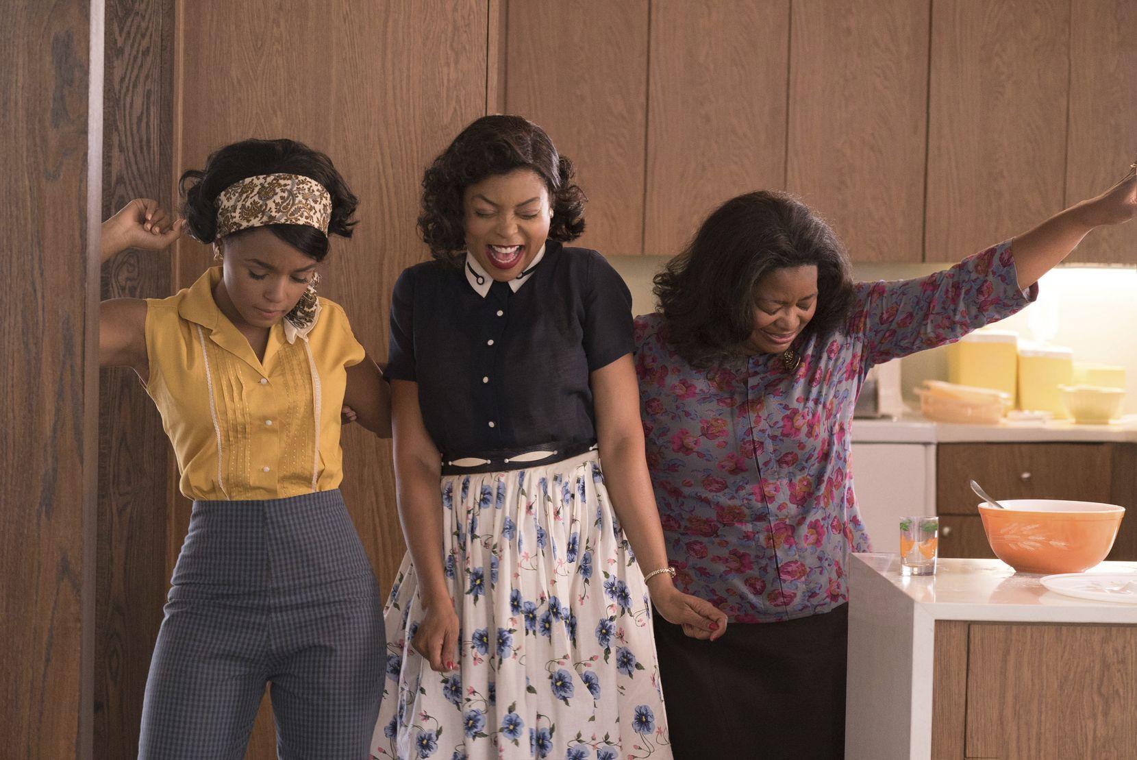 """(De izq. a der.)Janelle Monae, Taraji P. Henson y Octavia Spencer en una escena de """"Hidden Figures"""", que se estrena este fin de semana. 20TH CENTURY FOX"""