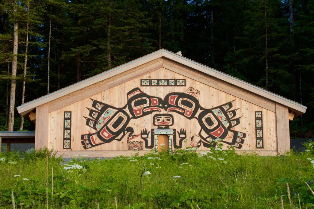 The new Huna Tlingit Tribal House opens at Glacier Bay National Park on Aug. 25. The ceremony will be streamed live from the park's website.