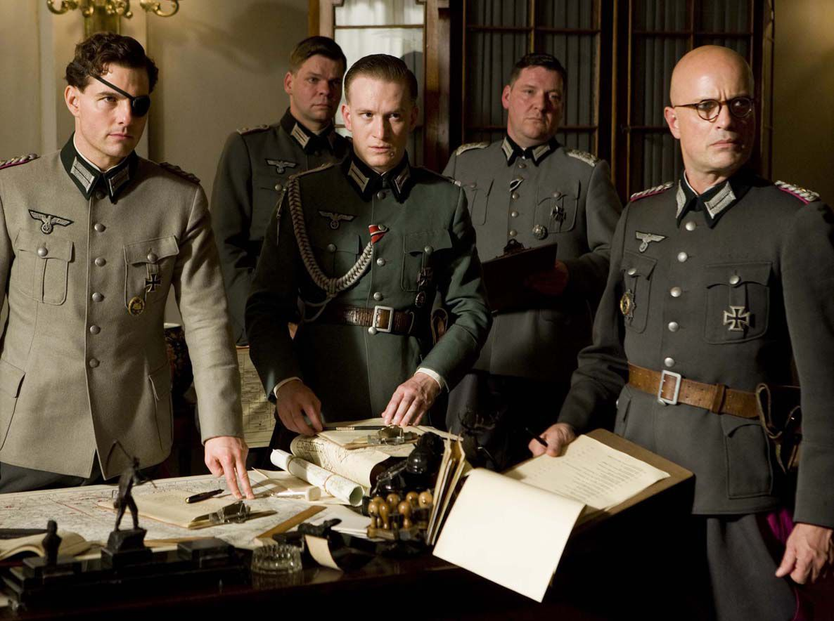 Tom Cruise (left) in a scene from United Artists' film VALKYRIE.