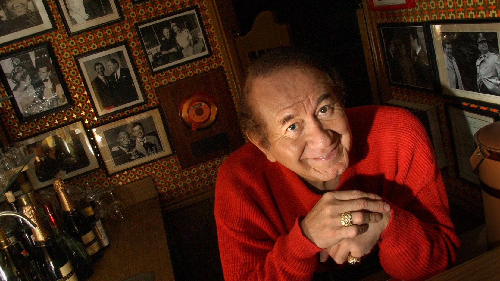 Trini Lopez, photographed in 2002, is still going strong at 80.